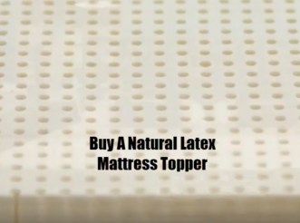 Buy A Natural Latex Mattress Topper. Full Stride Health