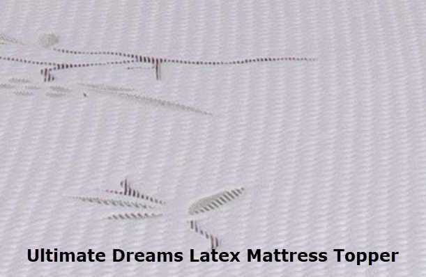 Talalay Latex Mattress Topper: Hypoallergenic, Bamboo Cover