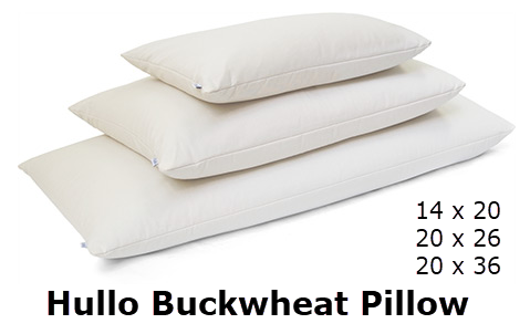 Hullo buckwheat pillow. Full Stride Health