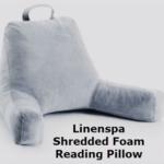 Linenspa shredded foam reading pillow. Full Stride Health