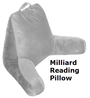 Milliard Reading Pillow. Full Stride Health