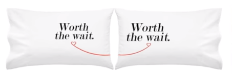 Worth the wait long distance pillow. Full Stride Health