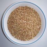 Organic buckwheat groats in a bowl. Full Stride Health