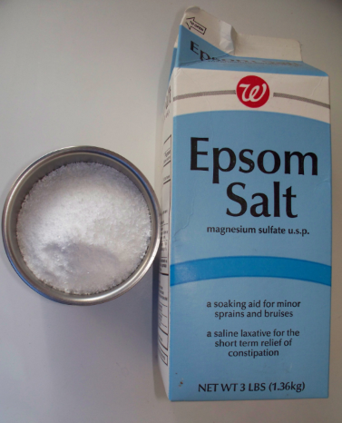 Epsom Salt is magnesium sulfate.. Full Stride Health