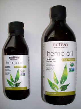 Nutiva cold pressed organoc hemp seed oil. Full Stride Health