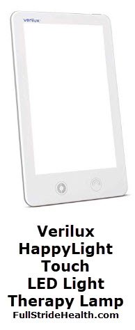 Verilux HappyLight Touch LED Light Therapy Lamp. FullStrideHealth.com