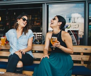 Women drinking beer, which increases their chances of hyperuricemia and gout more than it does for men. FullstrideHealth.com