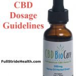 CBD Dosage Guidelines. FullStrideHealth.com