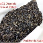 Beans72 Organic Buckwheat Pillow FullStrideHealth.com