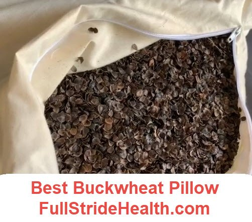 Best buckwheat pillow. FullStrideHealth.com