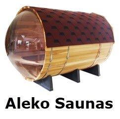 Aleko barrel sauna kits. FullStrideHealth.com