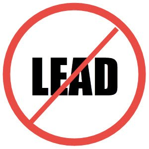 No lead.  The EHM alkaline water pitcher removes lead and other heavy metals.  FullStrideHealth.com