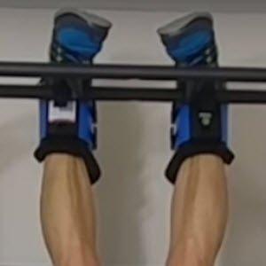 Teeter gravity boots. FullStrideHealth.com