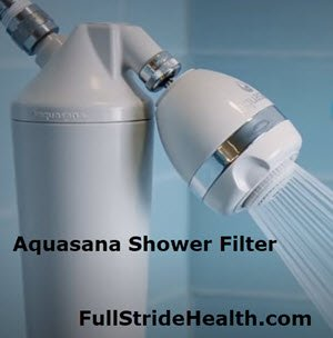 Aquasana Shower Filter Stops Toxic Skin & Hair Problems Fast
